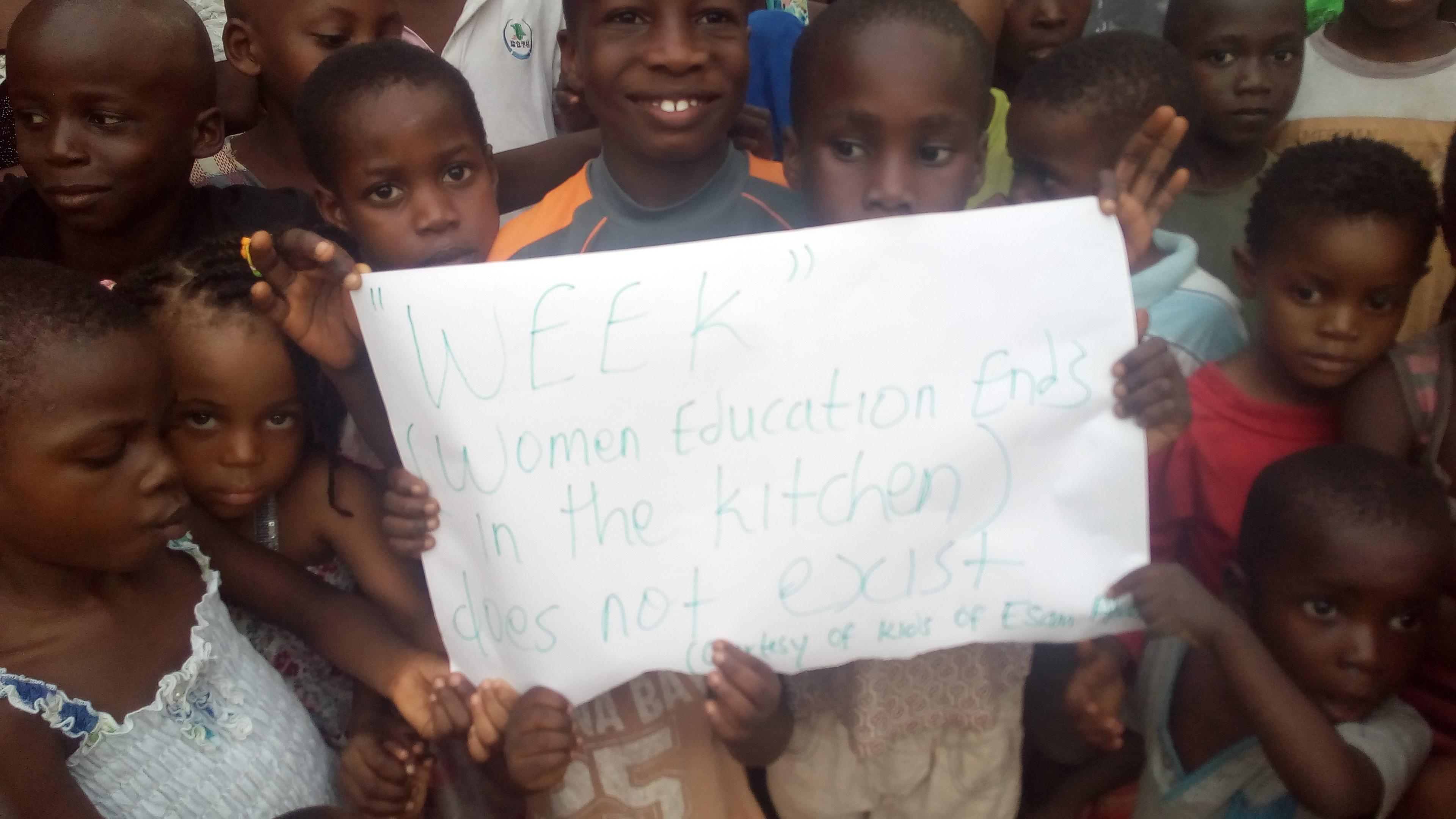 Children Demonstrating Female Gender Norms